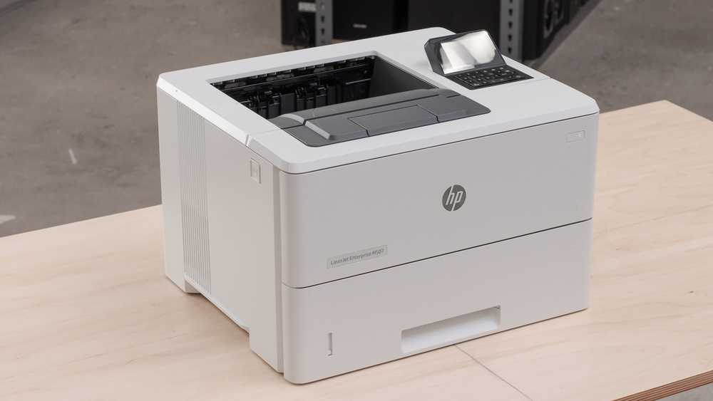 HP LaserJet Enterprise M507dn Picture