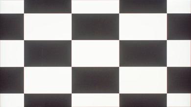 Samsung KS9000 Checkerboard Picture