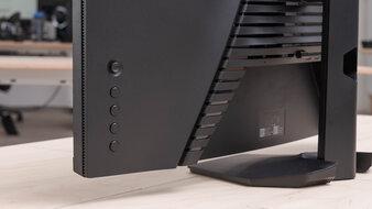 Dell S2721HGF Controls Picture
