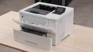 HP LaserJet Enterprise M507dn Build Quality Close Up