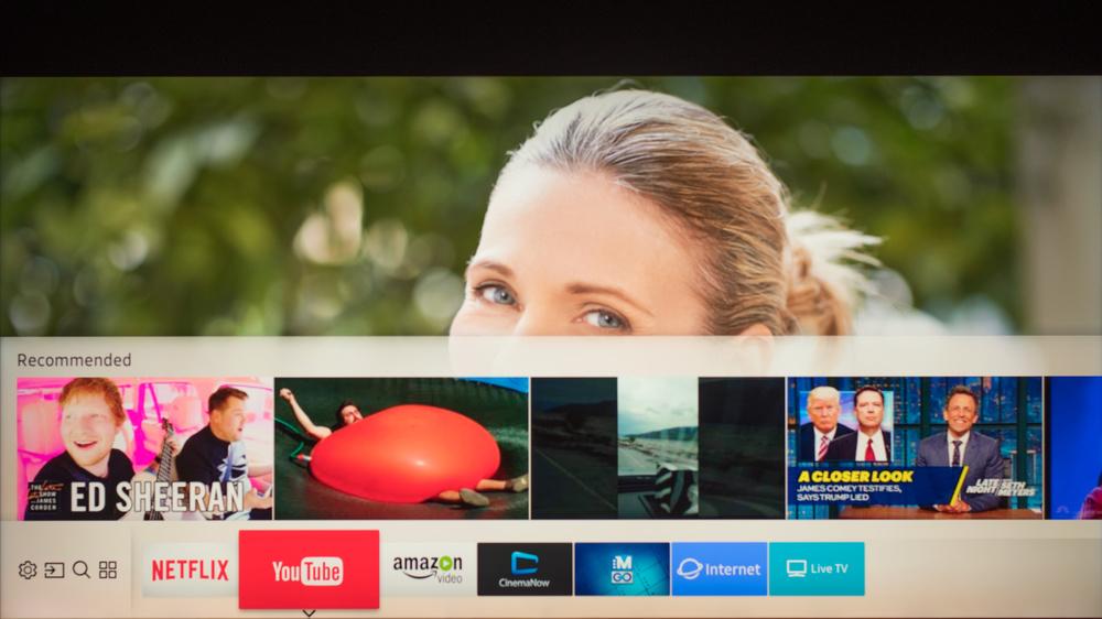 Samsung Q9F Smart TV Picture