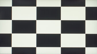 MSI Oculux NXG253R Checkerboard Picture