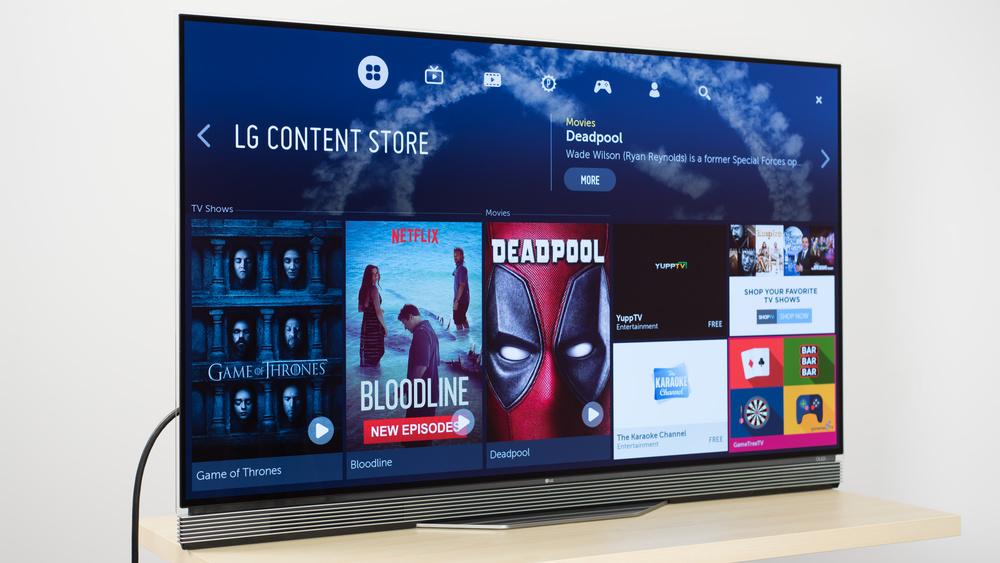 LG E6 Design Picture