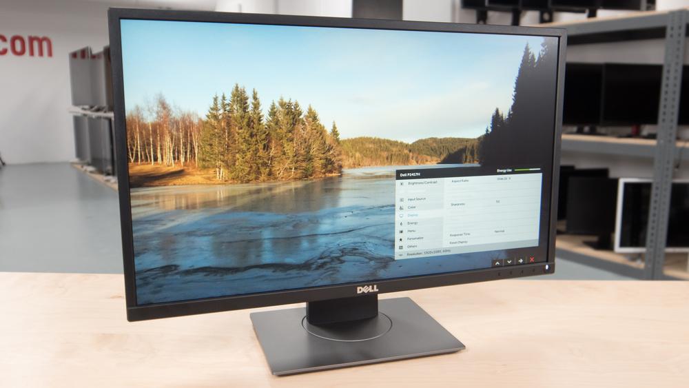 Dell P2417H Design Picture