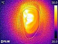 Razer Kaira Pro Wireless Breathability After Picture