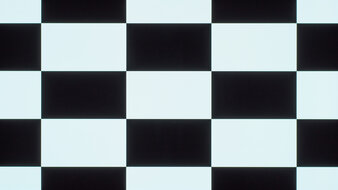LG 48 CX OLED Checkerboard Picture