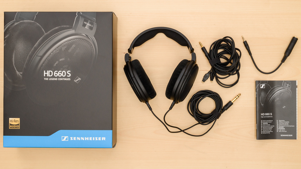Sennheiser HD 660 S In the box Picture