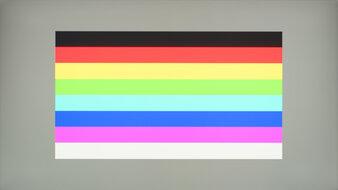 Lenovo Legion Y27q-20 Color Bleed Horizontal