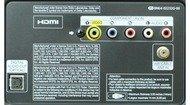 Samsung F4500 Rear inputs