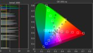 Sony X850G Color Gamut Rec.2020 Picture