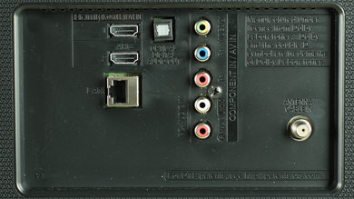 LG UF6400 Rear Inputs Picture