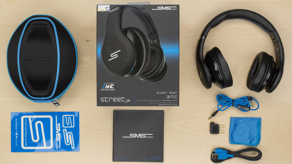 SMS Audio STREET by 50 Active Noise Cancelling In the box Picture