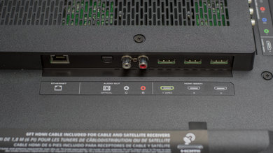 Vizio E Series 4k 2016 Rear Inputs Picture