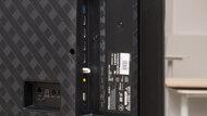 Hisense U8G Side Inputs Picture