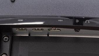 ASUS TUF Gaming VG27WQ1B Inputs 1