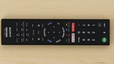 Sony X800D Remote Picture