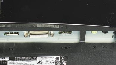 ASUS VG248QE Inputs 1