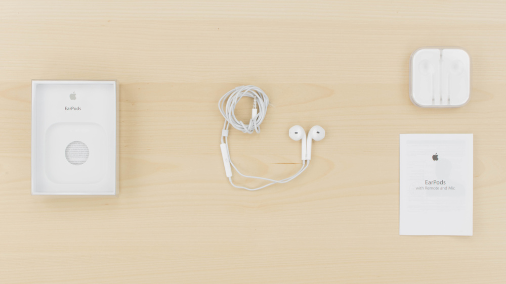 Apple EarPods In the box Picture