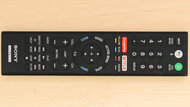 Sony A8F OLED Remote Picture