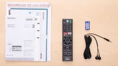 Sony X800G In The Box Picture