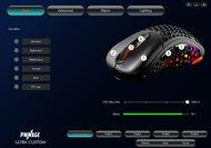 Pwnage Ultra Custom Wireless Ergo Software settings screenshot