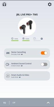 JBL Live Pro+ TWS True Wireless App Picture