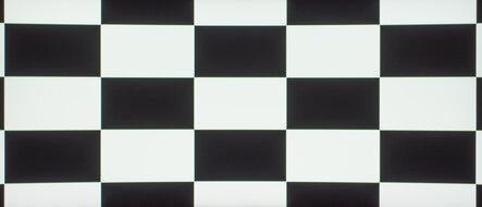 Dell S3422DWG Checkerboard Picture