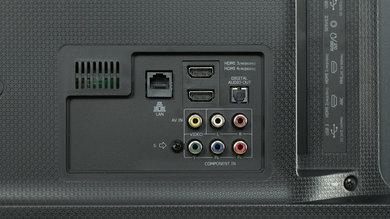 Hisense H8C Rear Inputs Picture