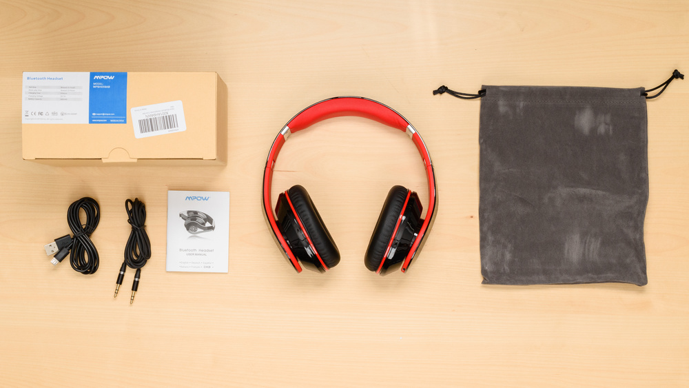 Mpow Bluetooth Over-Ear In the box Picture