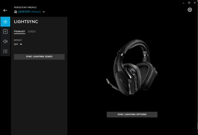 Logitech G935 Wireless Gaming Headset App Picture