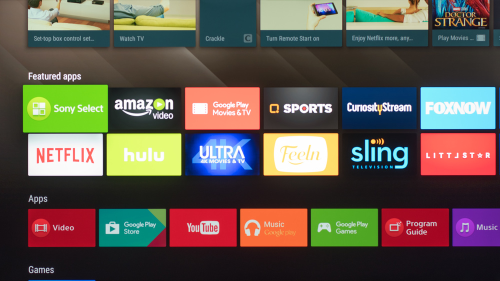 Sony X850E Smart TV Picture