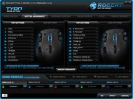 ROCCAT Tyon Software settings screenshot