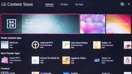 LG UN8500 Apps Picture