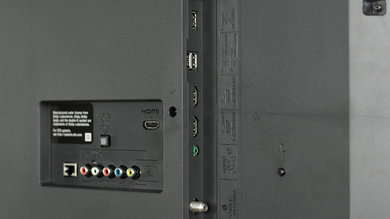Sony X690E Side Inputs Picture