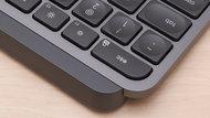 Logitech MX Keys Build Quality Close Up