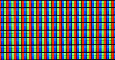 Samsung F5500 LED Pixels