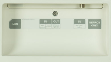 LG EF9500 Rear Inputs Picture