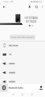 Sony HT-CT800 App image