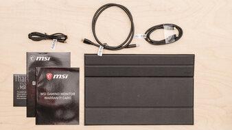 MSI Optix MAG161V In The Box Picture