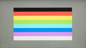 ASUS ZenScreen MB14AC Color Bleed Horizontal