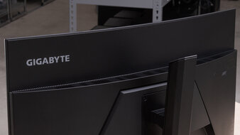 Gigabyte G32QC Build Quality Picture