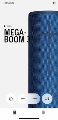 Ultimate Ears MEGABOOM 3 App Picture