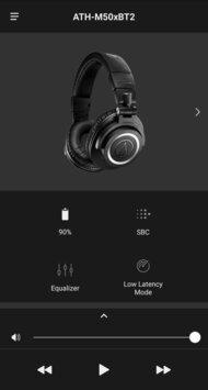 Audio-Technica ATH-M50xBT2 Wireless App Picture