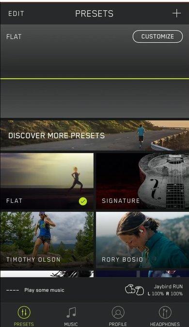Jaybird Run App Picture