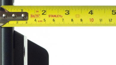Sony W800B Thickness