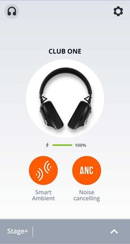 JBL CLUB ONE Wireless App Picture
