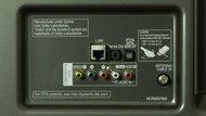 LG LB6300 Rear Inputs