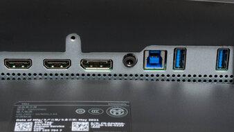 Dell S3422DWG Inputs 1