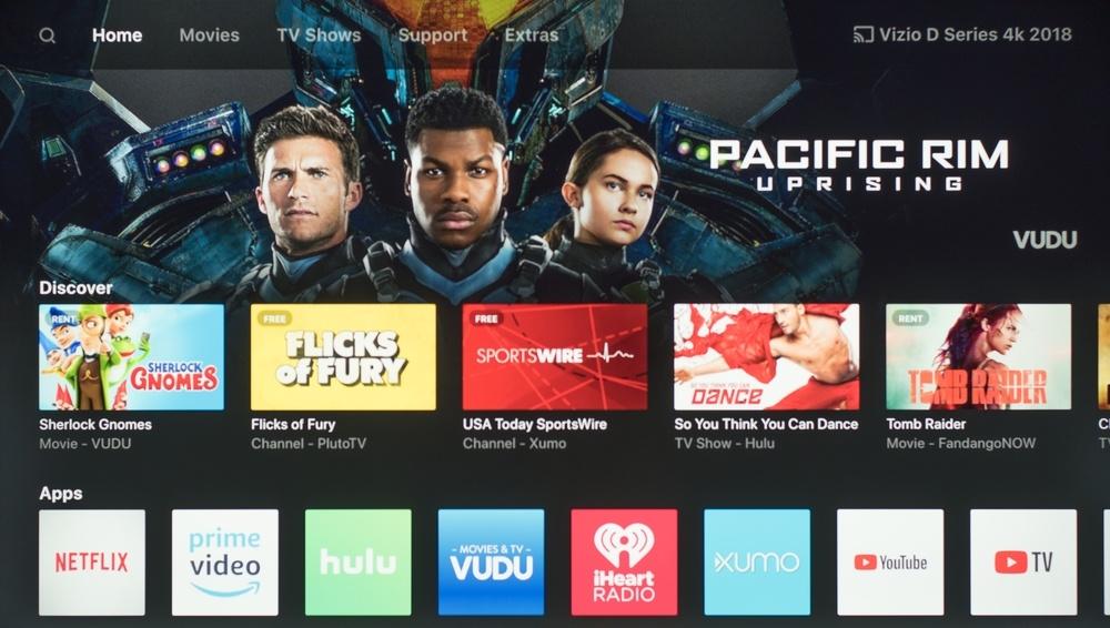 Vizio D Series 4k 2018 Smart TV Picture