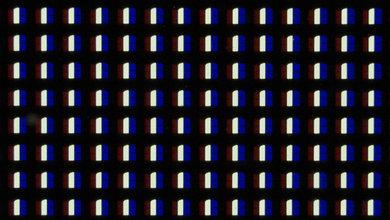 LG OLED ec9300 pixels